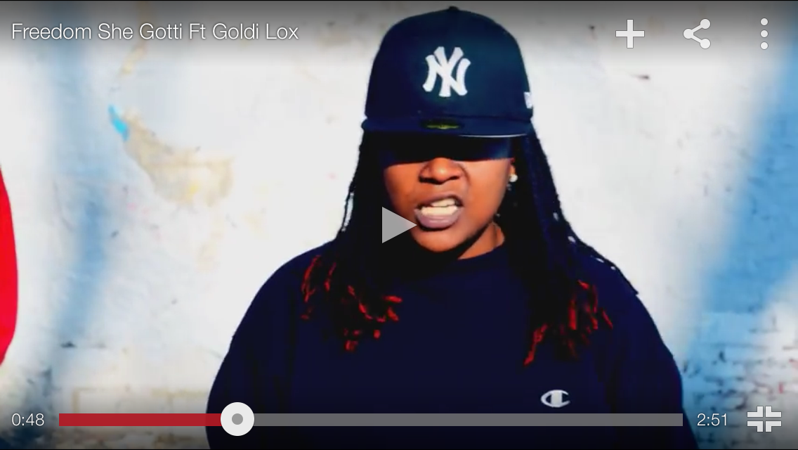 "#MusicVideo: She Gotti – ""Freedom"" FT Goldie Lox [@pootytangthief]"